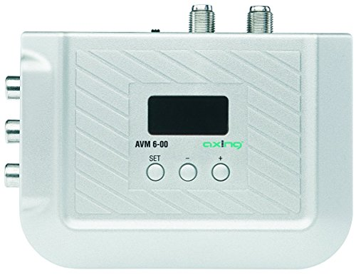 Axing AVM 6-00 A/V Stereo Modulator mit Scartanschluss, VHF/UHF -
