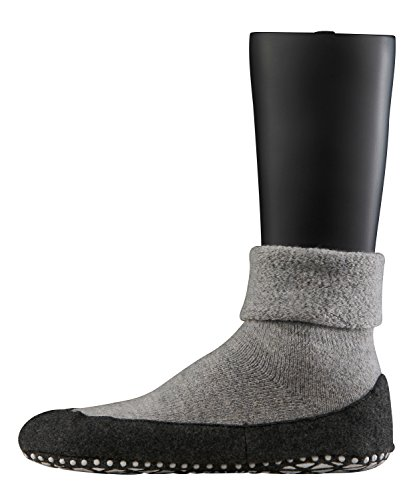 Falke Cosyshoe SO 16560 Herren Socken, Grau, 39-40 (Strümpfe Feste)
