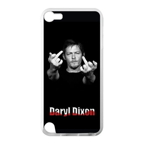 Walking Dead IPod Touch 5 Case Custom Cover for IPod Touch 5 TPU ()