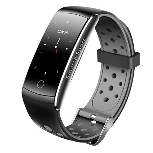 Q8S Blut-Sauerstoff-Smartwatch IP68 wasserdicht Fitness Smart-Armband-Blutdruck-TPU-Armbanduhr