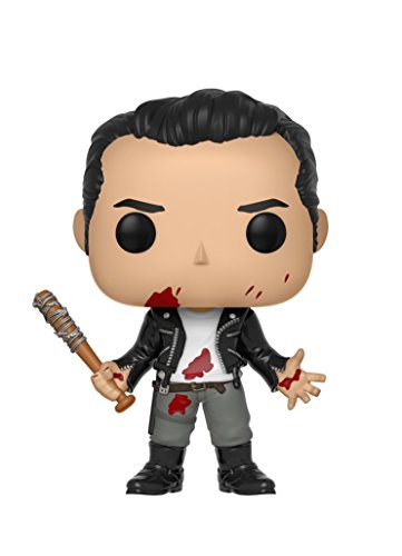 Funko 25206 S9 POP Vinylfigur: The Walking Dead: Negan (Clean Shaven), Multi Black Box Radar
