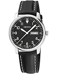 M-WATCH Aero 40 Analog Black Dial Men's Watch - WBL.90320.LB