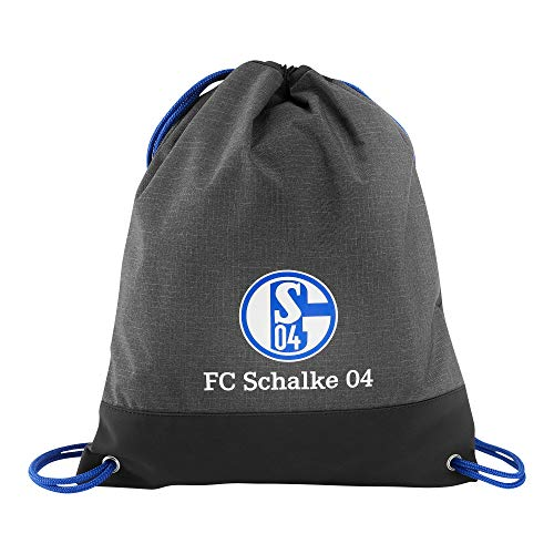 FC Schalke 04gymbag Bordar tunrbe utel, Grau/Schwarz, Talla única