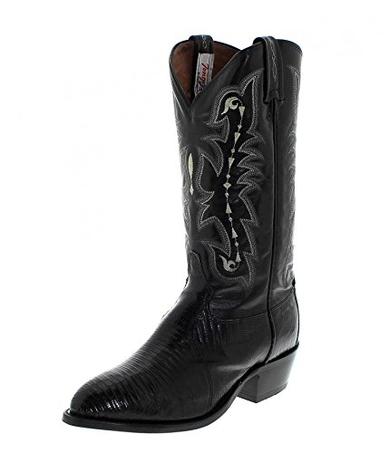 Tony Lama Fashion Stiefel (FB Fashion Boots Tony Lama CZ810 EE Black/Herren Exoticstiefel Schwarz/Herrenstiefel/Reitstiefel/Western Riding Boots, Groesse:41.5 (8.5 US))