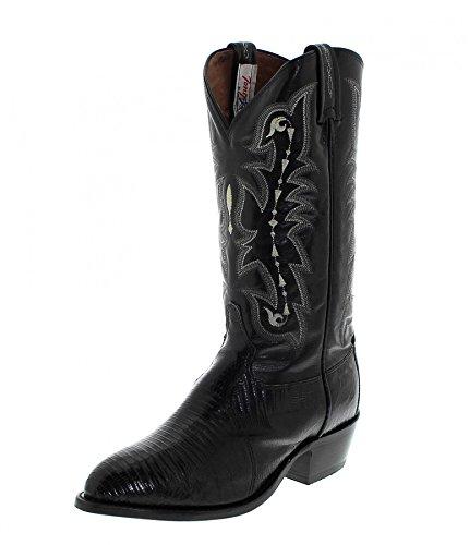 Tony Lama Fashion Stiefel (FB Fashion Boots Tony Lama CZ810 EE Black/Herren Exoticstiefel Schwarz/Herrenstiefel/Reitstiefel/Western Riding Boots, Groesse:41.5 (8.5 US))