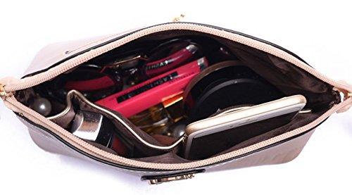 Keshi Pu Cool Damen Handtaschen, Hobo-Bags, Schultertaschen, Beutel, Beuteltaschen, Trend-Bags, Velours, Veloursleder, Wildleder, Tasche Gold