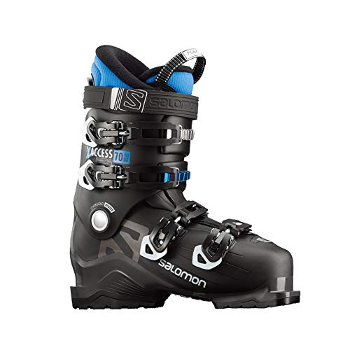 Salomon X-Access 70 Wide Botas de esquí, 17/18, color BLACK / INDIGO BLUE,...