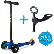 Micro MP35243 - Mini Micro moto, 3 en 1, Azul