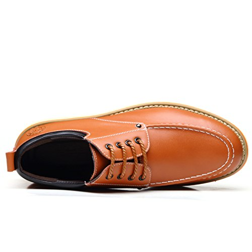 Cuir véritable casual chaussures/Lacé chaussures de printemps/Coupe-bas chaussures A