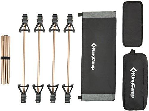 KingCamp Cama plegable ultraligera portátil 1