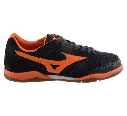 Mizuno Futbol Sala 3 IN Chaussures de Futsal Indoor 19855 (Interne) noir/orange