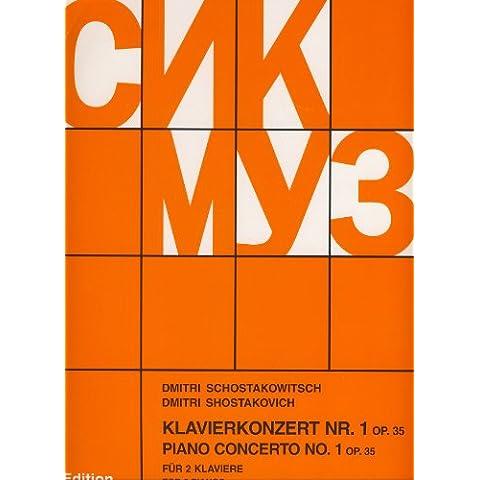 SHOSTAKOVICH - Concierto nº 1 en Do menor Op.35 para 2 Pianos a 4 manos