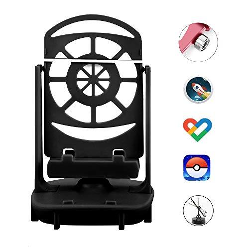 NEWZEROL Steps Counter Zubehör Kompatibel für Poke Ball Plus/Pokemon Go Handy-Schrittzähler, [USB-Kabel] [Einfache Installation] [Stummschaltung] [Unterstützung für 2 Telefone]-Schwarz