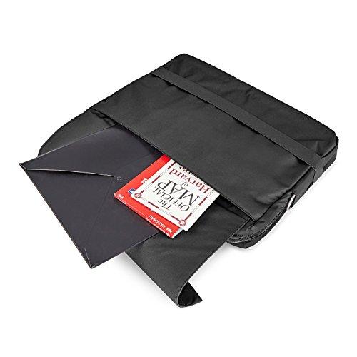 Moleskine ID Digitalgeräte Tasche, Horizontal, 15 Aktentasche, 40 cm, Schwarz Schwarz