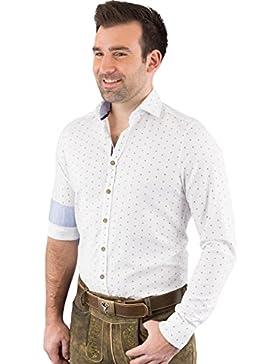 Hatico Mode Pure Trachtenhemd Herren Langarm C52614-21798 970
