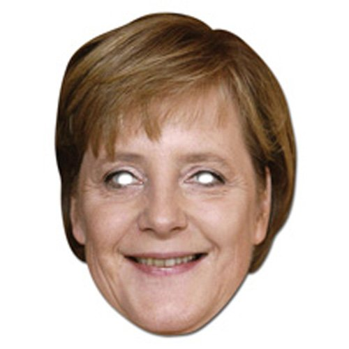 Preisvergleich Produktbild Générique ma1241–Maske Angela Merkel–Karton–Einheitsgröße