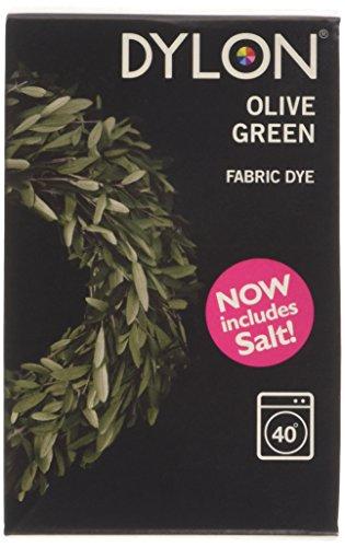 Dylon Teinture textile pour Machine à laver Vert Olive 350 g (y compris le sel