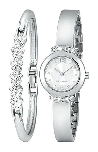 pierre-cardin-orologio-da-donna-quadrante-argento-e-argento-braceletdesigner-e-set-di-gioielli-in-co