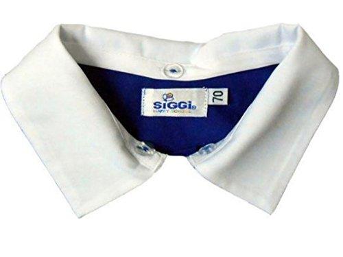 Colletto per grembiule scuola confezioni da 4 colletti (6-7 anni, mascio)