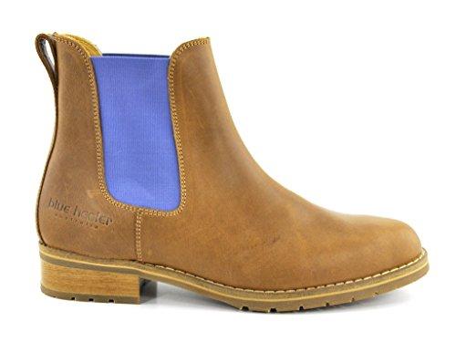 Blue Heeler Chelsea Boot Josslyn cognac-sky cognac-sky