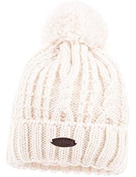 MaxiMo Mütze Mit Pompon, Cappellopello Bambina
