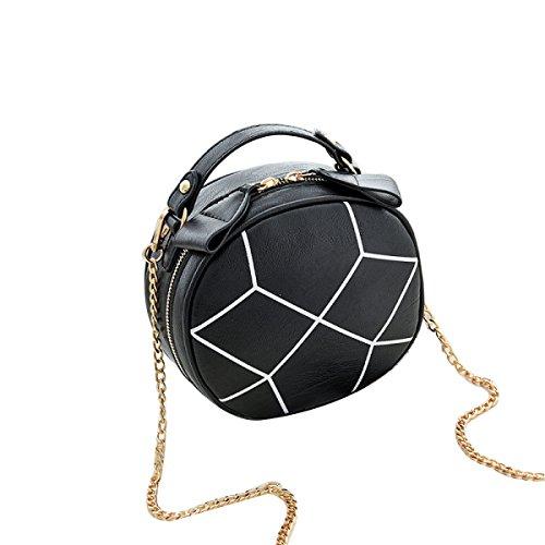 Versione Coreana Della Nuova Borsa Cross-cosmetica Diagonale Mini-spalla Black