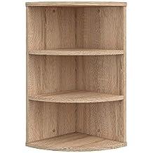 suchergebnis auf f r eckregal eiche. Black Bedroom Furniture Sets. Home Design Ideas