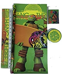 tortues ninja set papeleria 5pzs - Cartable Tortue Ninja