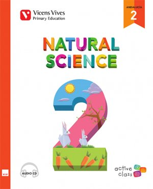 NATURAL SCIENCE 2 + 2CD'S (ACTIVE CLASS) ANDALUCIA: 000001 - 9788468230634