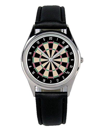 Geschenk für Dart Darts Dartspieler Fan Uhr B-6037