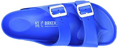Birkenstock Unisex-Erwachsene Arizona Eva Pantoletten Blau (Scuba Blue)
