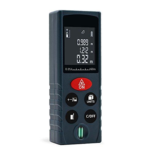 ERAY 60M Télémètre Laser Numérique Professionnel Portable Antichoc