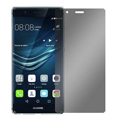 Slabo Blickschutzfolie für Huawei P9 Sichtschutz Displayschutzfolie (verkleinerte Folien, aufgrund der Wölbung des Displays)