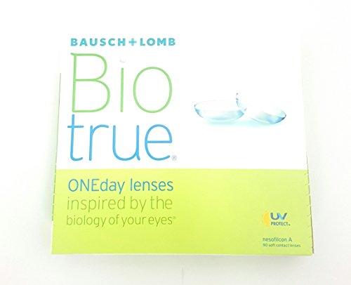 Biotrue ONEday Tageslinsen weich, 90 Stück / BC 8.6 mm / DIA 14.2 mm / -1.75 Dioptrien