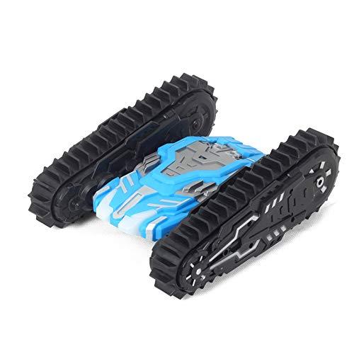 Tritow 2,4G High Speed   Tumbling Spielzeugauto Elektrische Geländewagen 360 Grad Flip Beständig Fallen Remote Kipper Stunt Lade Spielzeugauto Kinder Spielzeug Geschenke (Color : Blue) Beständig Remote