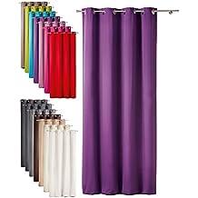rideaux violet. Black Bedroom Furniture Sets. Home Design Ideas