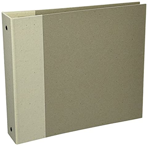 Bo Bunny 9 x 9-inch 3-Ring Bare Naked Binder with