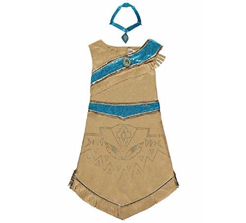 George Disney Prinzessin Pocahontas Mädchen Kostüm Kostüm Outfit -