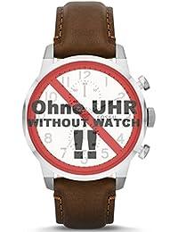 Fossil bande de montre de bracelet pour montre FS4872de rechange d'origine FS 4872Bracelet de Montre bracelet cuir 22mm Marron