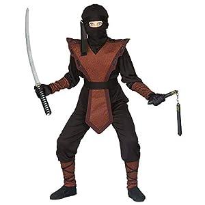 WIDMANN Disfraz de guerrero ninja, de talla 11/13años