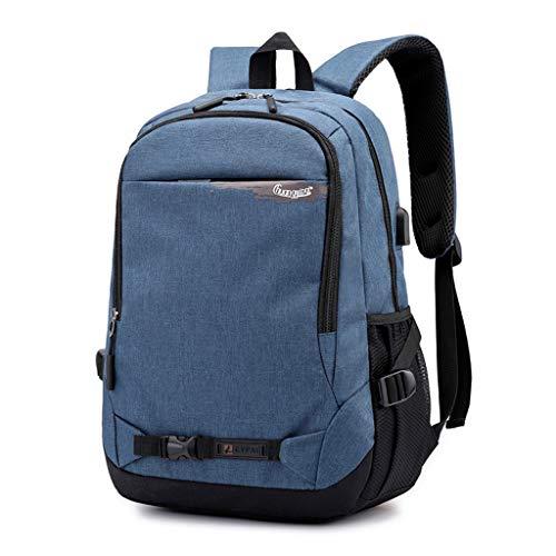 Hffan Laptop Rucksack Studenten Schulrucksack Reise Rucksack/sportlich Knapsack lässiger Daypack/Laptop Backpack Herren Notebook Schultasche für Uni/College/Outdoor/Wandern