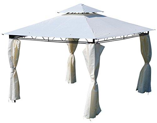 ASS Verschiedene Gartenpavillon Pavillon mit Dachstoff Mind. UV30+ UV50+ rechteckig Eckig Rund 3x3...