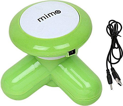 Acupressure Mimo Mini Portable Compact Full Body Vibration Massager with USB Port  available at amazon for Rs.149