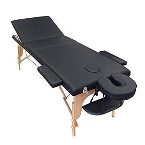 Harima pro luxe table de massage pliante pliable - Table de massage professionnelle pliante ...