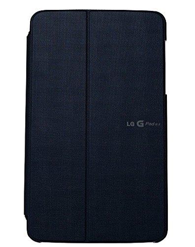 Schutzhülle aus PU-Leder für LG Optimus Pad 8.3Gramm, Schwarz
