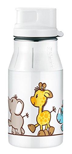 Alfi 537715804 Trinkflasche Element Edelstahl, (0,4 Liter) safari park
