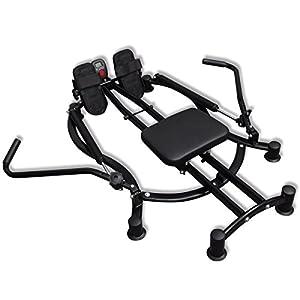 vidaXL Rudergerät Ruderzugmaschine Rudermaschine Fitnessgerät Trainingsgerät