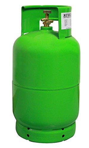 Produktbild Kältemittel R134a,  12lt. inkl. Flasche,  14, 38.-€ / lt.,  Refrigerant R134a,  12lt. incl. Cylinder