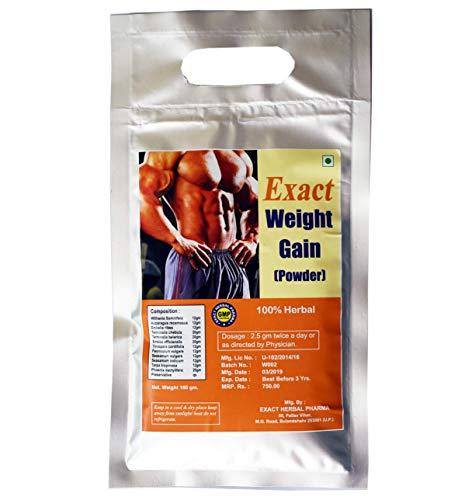 EXACT Herbal Weight Gain Powder Health Suppliment