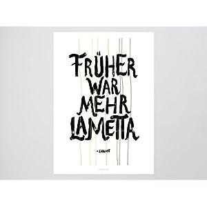 Kunstdruck Poster / Mehr Lametta